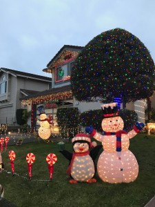 christmas decoration, Christmas lighting, christmas lit houses, Navidad 2016